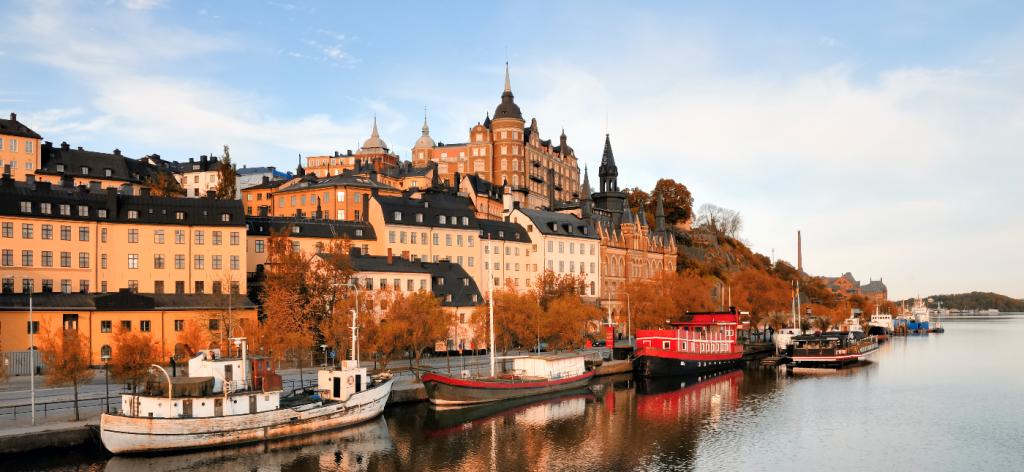The city centre of Stockholm inspired for the muesli design
